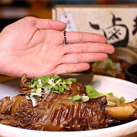 高雄美食-滷台味 最有料的滷拌麵丨最道地的台南味 隱藏料理!! 高CP值滷牛膝