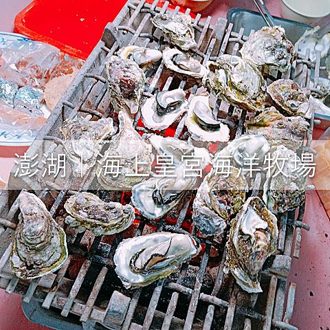 [旅遊]澎湖-海上皇宮海上牧場‧海鮮粥烤牡蠣吃到飽還能釣魚兼拍網美照~♥