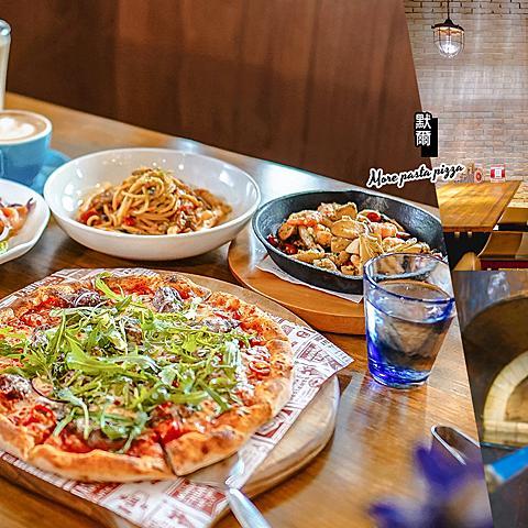 【台中】默爾義大利餐廳(附菜單) 北屯人氣義式餐廳 窯烤披薩餅皮香Q軟彈好好吃