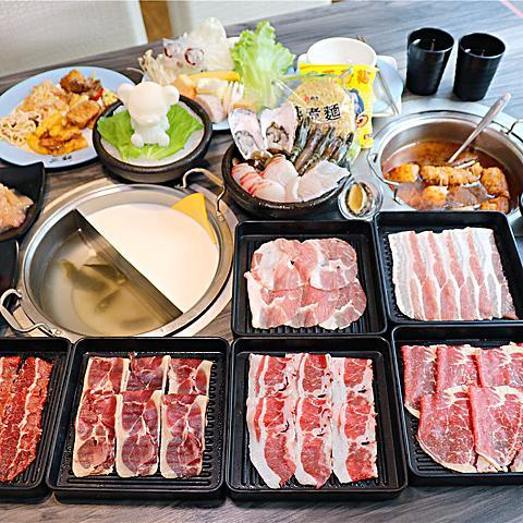 高雄美食-鬥牛士二鍋(大順店) 平價肉肉吃到飽!! 多種食材.熟食自助吧無限享用