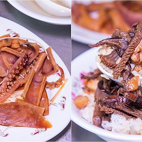 【吃翻華西街夜市之二十】華西街一甲子老店.北海道新鮮魷魚.超大肥美虱目魚肚.香菇魯肉飯
