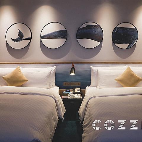 【中壢/住宿】名過於實,有點令人失望的COZZI Blu和逸飯店桃園館 (飯店設施、雙人房、四人房介紹)