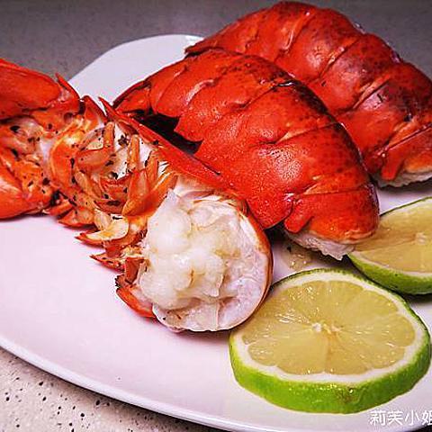 [食譜] 15分鐘快速上菜之清蒸檸檬龍蝦 (第一次做大餐就上手/零失敗無油料理)