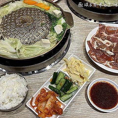 彰化美食┃銘谷 銅盤烤肉 韓式料理。彰化老字號銅盤烤肉,生意好到常大排長龍!