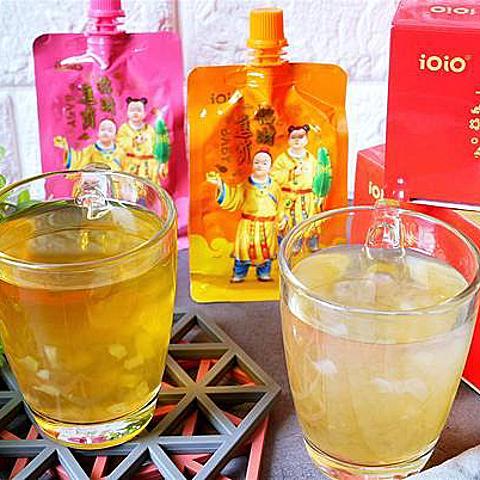年節禮盒推薦-iOiO招財進寶蒟蒻禮盒,18%果汁含量,滿滿的維生素C蒟蒻,送禮自用兩相宜