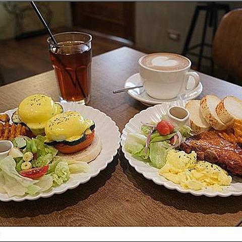 新竹 Glow Cafe。老屋小店美式早午餐