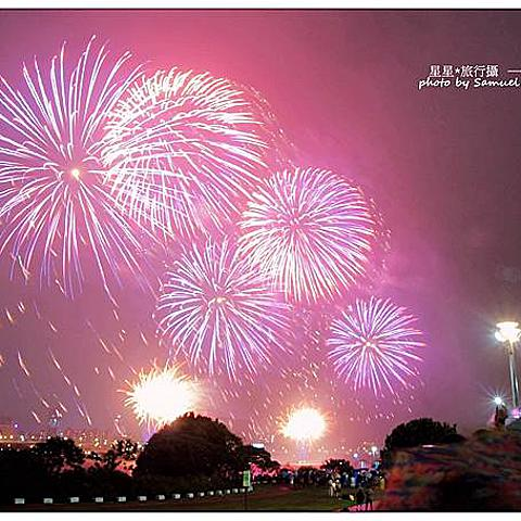 ▋台灣 ▋台北 ♥ 2021大稻埕煙火 ★ 攝影作品記錄