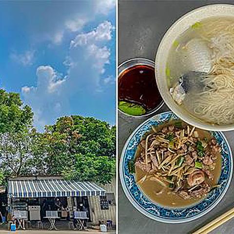 高雄美食 - 柯仔鮮魚湯燕巢店 x 必吃特色煎虱目魚腸跟炒鱸魚內臟