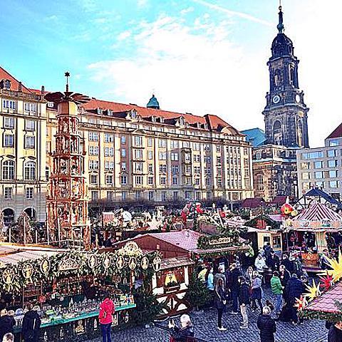 【德國】德勒斯登Dresden Strizelmark。歐洲最古老的聖誕市集