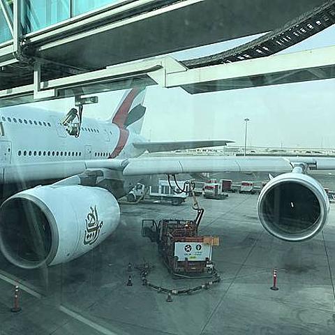【阿聯酋航空Emirates A380體驗】台北-阿姆斯特丹|金碧輝煌的杜拜轉機 飛歐洲一點也不疲憊