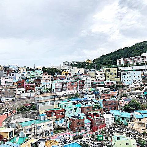 부산~ 왔어요韓國釜山自由行 第四天(上)甘川洞文化村+會動的照片