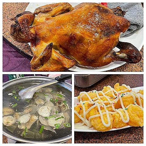 桃園--台灣一品雞~〈楊梅美食,中式合菜,招牌烤全雞/免費雞油拌飯~〉
