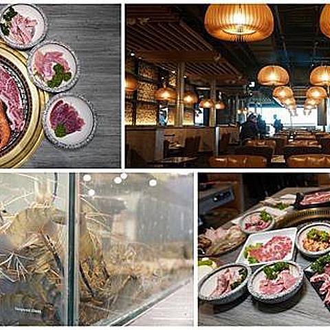[高雄燒肉] 燒肉將 高雄夢時代店- 活泰國蝦 x 伊比利豬肋條 x 美國和牛吃到飽/ 夢時代餐廳推薦/ 高雄泰國蝦吃到